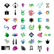 Collection of vector icons for business and finance — Stock Vector #30017037