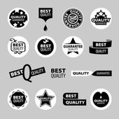 Collection of vector icons of quality assurance — Stock Vector