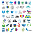 Stock Vector: Biggest collection of vector logos books