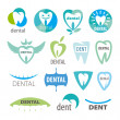 Biggest collection of vector logos dentistry — Stok Vektör #45168953