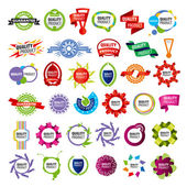 Biggest collection of vector icons framework  — Stock Vector