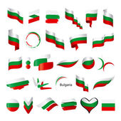 Biggest collection of vector flag of Bulgaria   — Stock Vector