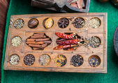 Different spices of India — Stock Photo