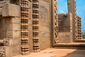 Oever tempel. mahabalipuram, india, een unesco world heritage site — Stockfoto