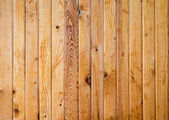 The varnished boards with knots — Stock Photo