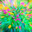 Motion blur flower Lantana camara — Stock Photo
