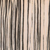 Zebrano wood texture, wood grain — Stock Photo