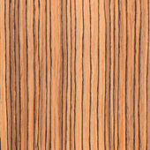 Texture zebrano, wood grain — Stock Photo