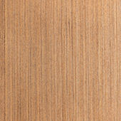 Wenge wood texture, wood veneer — Stock Photo