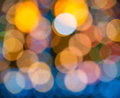 Blurring lights bokeh background — Stock Photo
