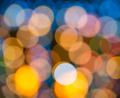 Blurring lights bokeh background — Stock Photo
