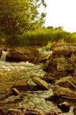 Picturesque dam — Stock Photo