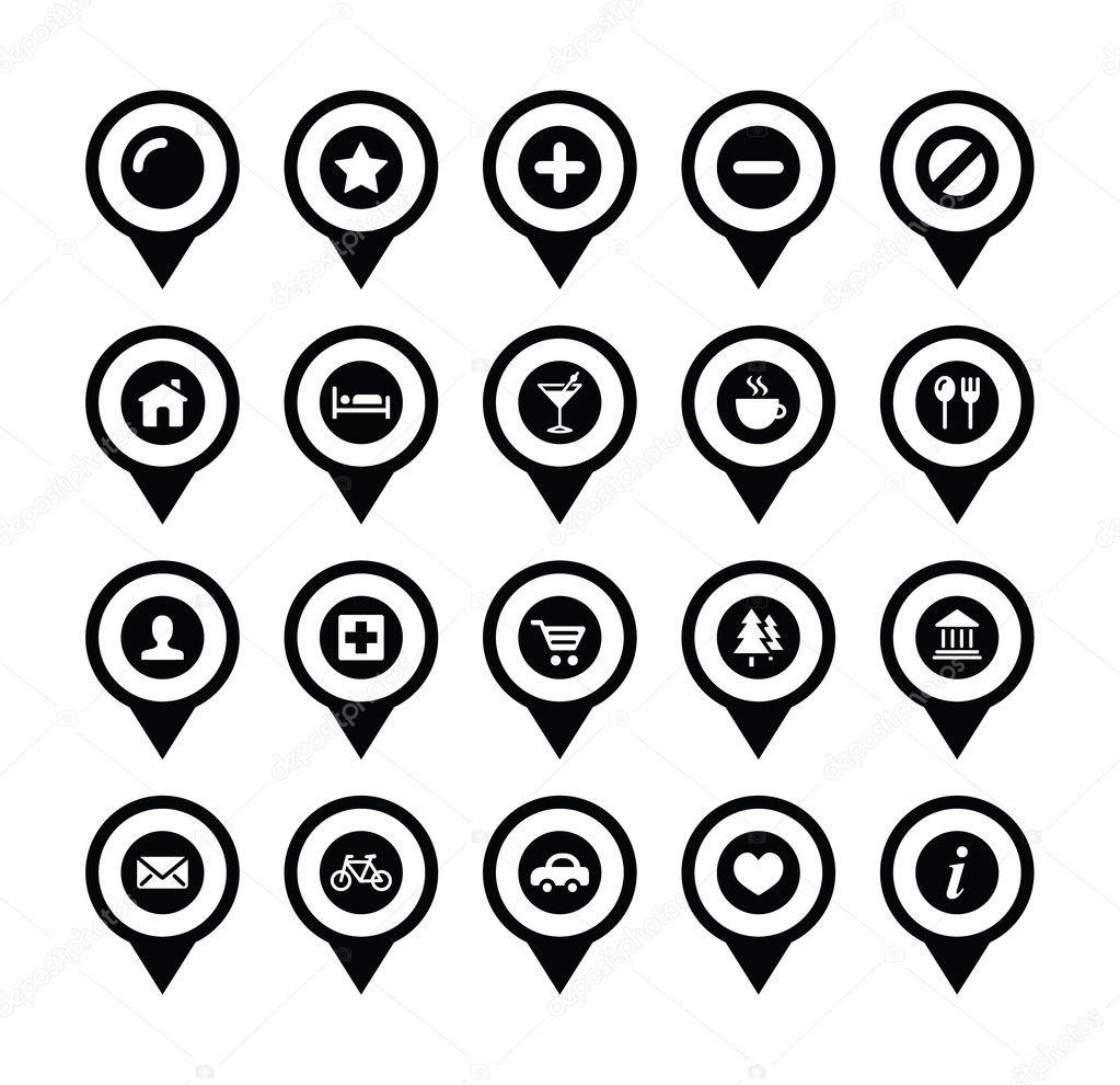 маркеры иконки: