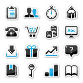 Web internet iconen set - vector — Stockvector