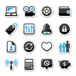 Web internet icons set - vector — Stock Vector