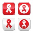 ������, ������: Red ribbon AIDS HIV heart disease stroke awereness sign