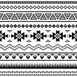 Aztec mexicseamless pattern — Stock Vector #30781525