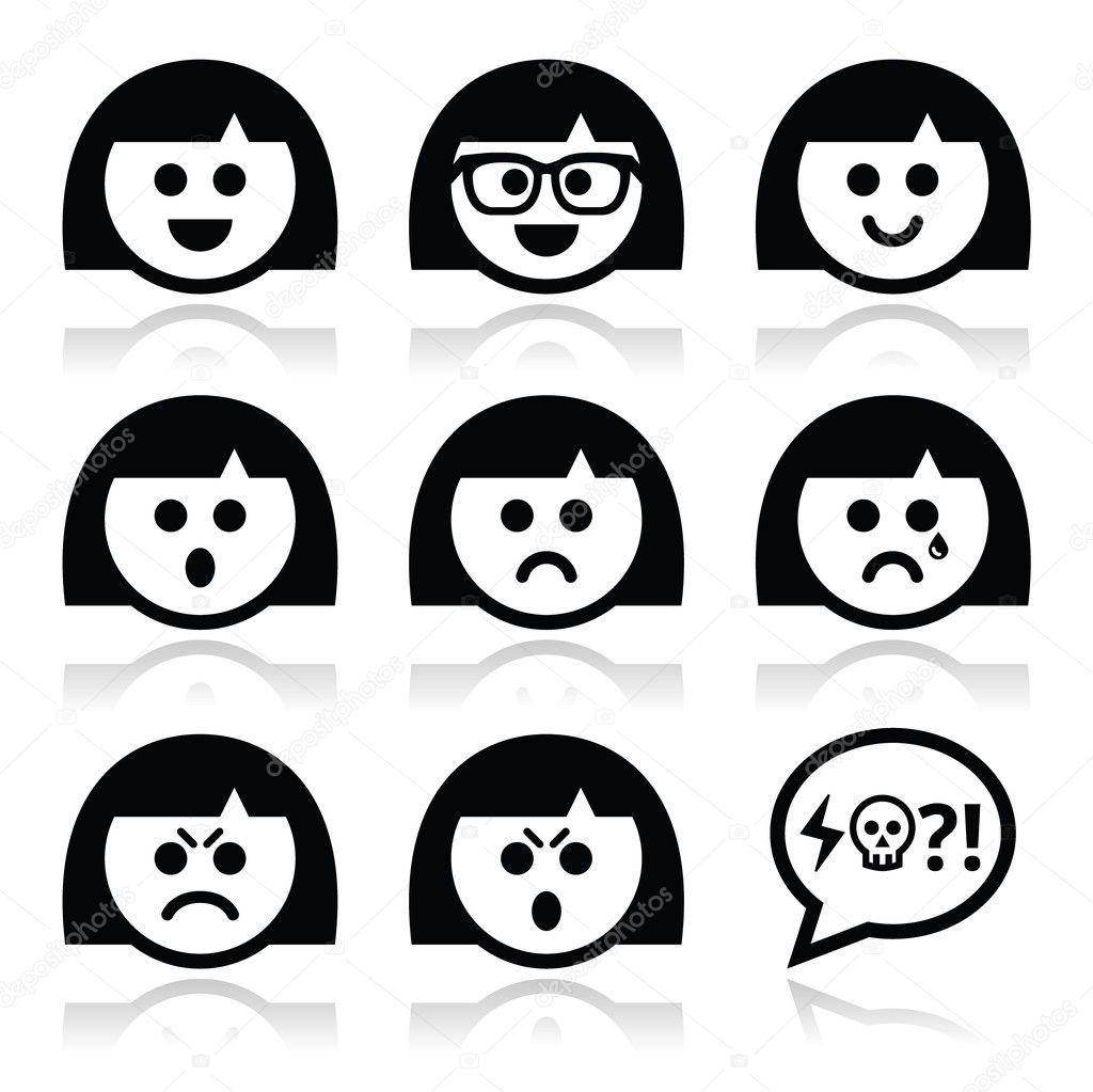 аватар женщина: