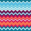 Stock vektor: Tribal aztec zigzag seamless pattern