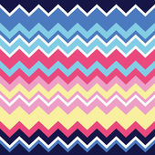 Tribal aztec zigzag seamless pattern, print — Stock Vector