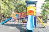 公園内のカラフルな遊び場 — ストック写真