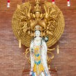 Goddess of mercy Guan yin statue - Stock Photo