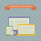Responsive Web Design — Stock Photo
