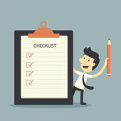 Checklist — Stock Vector