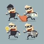 Thief — Stock Vector #44593395