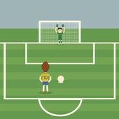 Penalti — Vector de stock