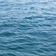 Weak ripples on blue water — Foto de Stock