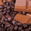 Chocolate, coffee, Bon appetite — 图库照片