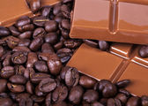 Chocolate, coffee, Bon appetite — Stock Photo