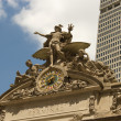 Royalty-Free Stock Photo: Sculpture above Grand Central Station, New York