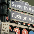 Stock Photo: 7th Avenue Sign, New York