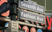 7th Avenue Sign, New York — Stock Photo