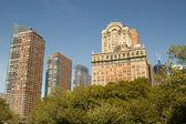 Downtown Manhattan, New York buildings — Stock Photo