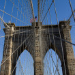 Brookly Bridge, New York - Vertical — Stock Photo
