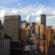 Foto Stock: Midtown East Side rooftops, New York