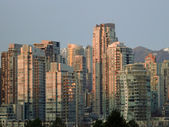Downtown Vancouver, BC — Stock Photo