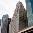 Financial District buildings, New York — Stock Photo