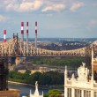 Queensboro Bridge, New York — Stock Photo