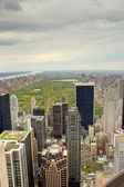 Central Park, New York from a high view — Stock Photo