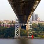George Washington Bridge, New York — Stock Photo