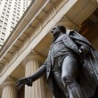 George Washington at the Federal Hall on Wall St., New York — Stock Photo #13505973