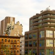 Stock Photo: Modern Chelsebuildings, New York