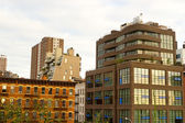 Modern Chelsea buildings, New York — Stock Photo