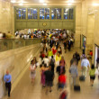 Rush hour at Grand Central, New York — Stock Photo