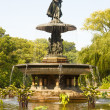 Bethesda Fountain, Central Park, New York - Stock Photo