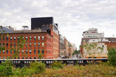 High Line Park Chelsea, New York — Stock Photo